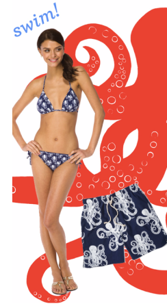 Lilly Pulitzer Mini Touchy Feely Bikini Resort 2011