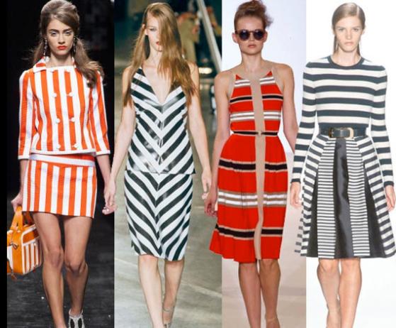 stripes are huge
