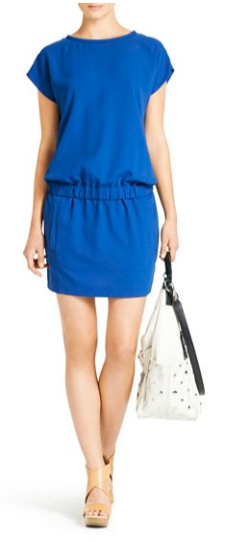 DVF Tara Drop Waist Dress
